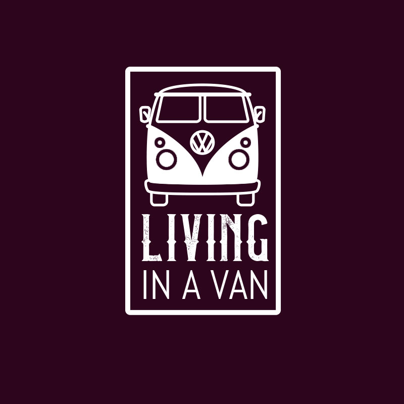 Living in a van logo